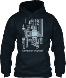 Hoodie Computer Engineer Technology