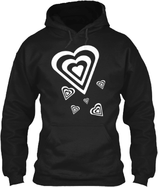 Hearts in Hearts Hoodie
