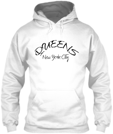 Hoodies Sweatshirts Zipperless Pullover Front Pocket Pouch Queens New York City