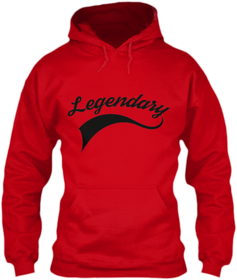 Hoodies Sweatshirts Zipperless Pullover Front Pocket Pouch legendary