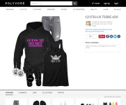 Polyvore Guess My Secret Hot Pink Text Hoodie with Queens Crown Tank 6