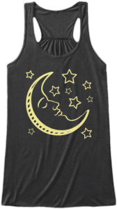 Moon and Stars Tank Top