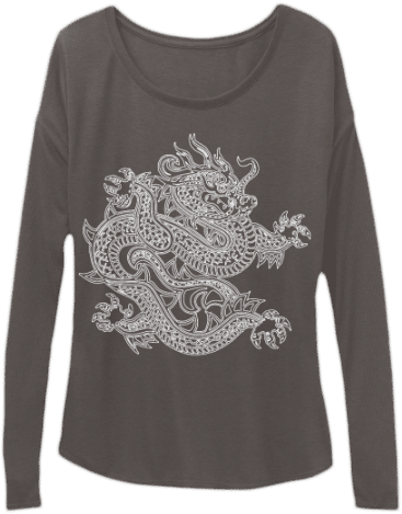Long sleeve Chinese Dragon