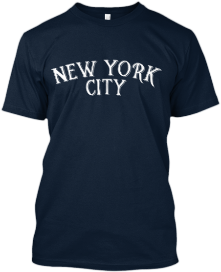 New York City Vintage Type T shirt
