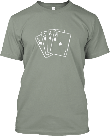 Card Game Aces T-shirt