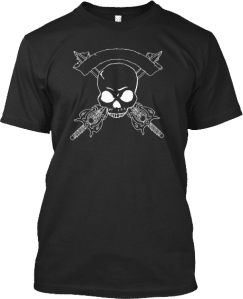 PIrate Skull Swords T shirt