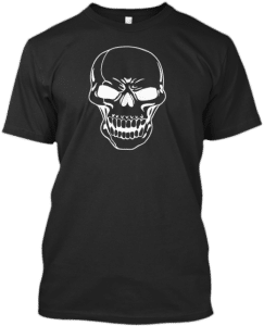 Evil Skull t-shirt T Shirts Skulls Skull Collection