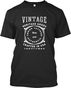 T-shirts Vintage Goods