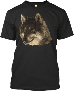Wolf Head Tee T Shirts Wolves Wolf Lovers