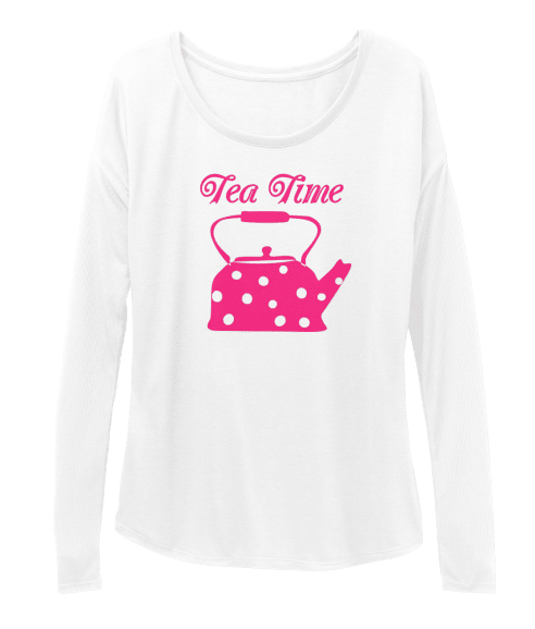 Womens Tee Shirt Tea Time
