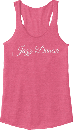 Jazz Dancer Tank Top
