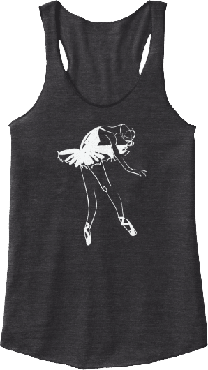 Ballet Pointe Dancer Tank Top