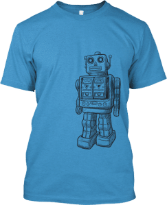 Robot on the Right T shirt