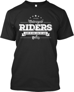 Motorcycle Riders Live to Ride T-shirt