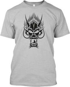 tshirt dragonhead black