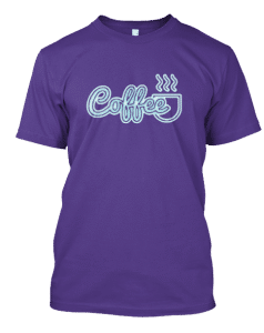 Retro Coffee Tee Shirt