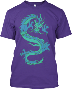Blue Dragon T shirt
