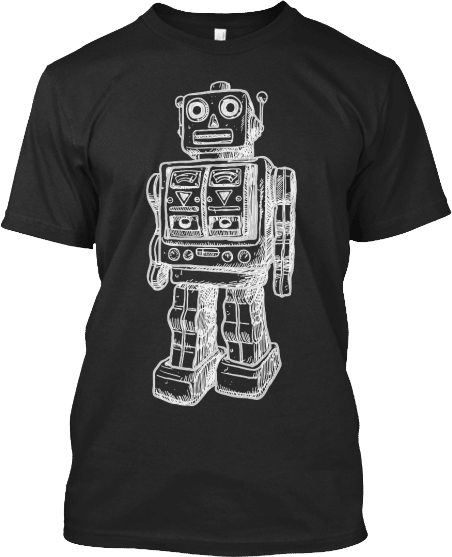 Huge Robot T shirt