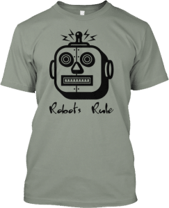 Square Head Robot Shirt