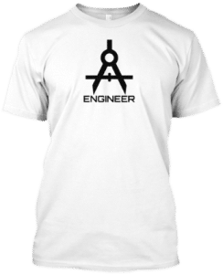 Engineer Compass Engineering Tee