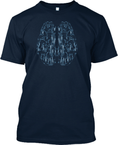 Circuit Brain Technology T shirt