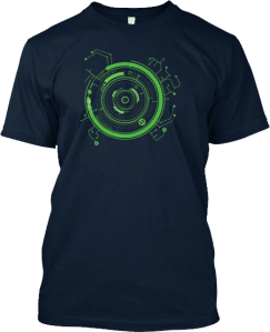 Technology Circuit HUD T shirt