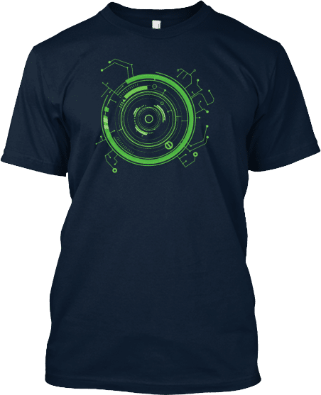 Green Hud Technology Tee