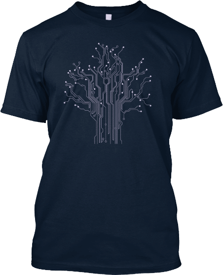 Circuit Tree Computer Engineering Shirt