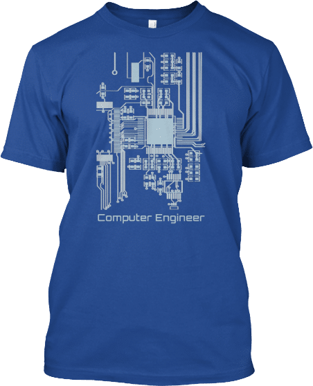 Computer Engineer Computer Chip Tee