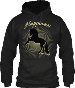 Happiness Horse Hoodie