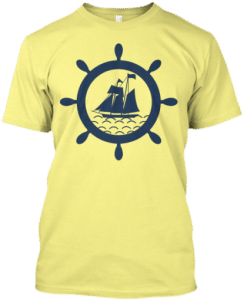 tshirt sailor sailing