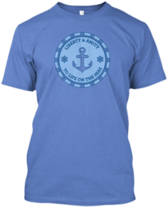 Sailing Anchor T shirt
