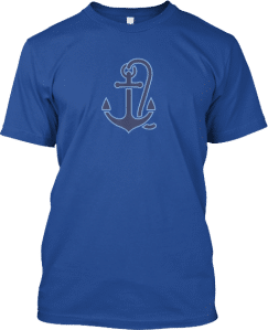 Boat Anchor T shirt