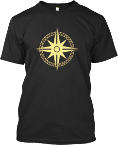 Sailor's Sailing Compass Tee Shirt