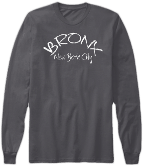 Bronx New York City Long Sleeve Shirt