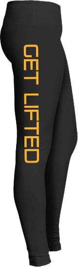 Get Lifted Weight Lifting Gym Fitness Leggings