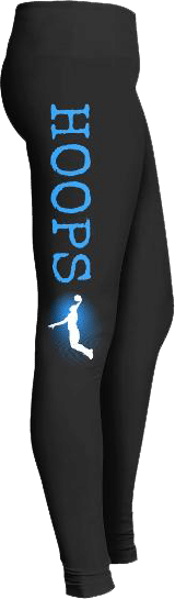Hoops Basketball Sports Leggings