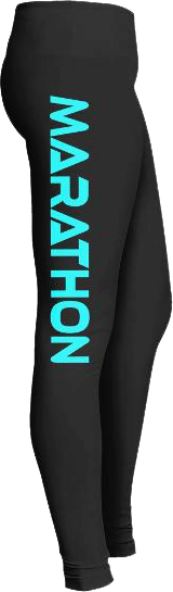 Marathon Runner Sports Leggings