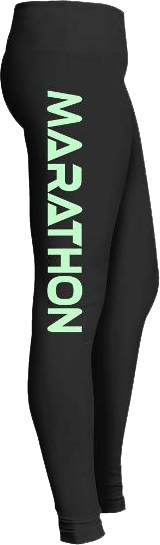 Marathon running leggings