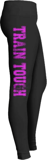Train tough gym workout leggings