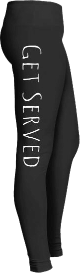 Get Served Sports Volleyball Leggings