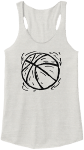 Women's Basketball Tank Top Shirt