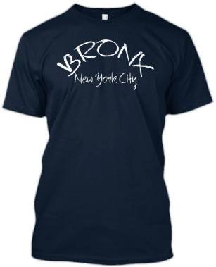 Bronx New York City T Shirt Tee