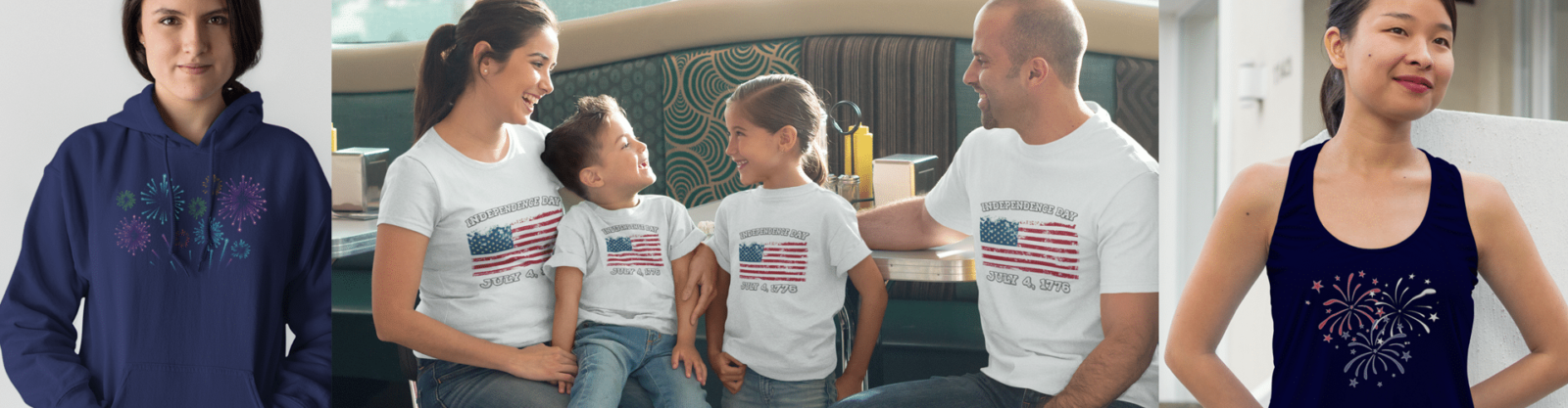 Patriotic Independence Day American Flag Apparel