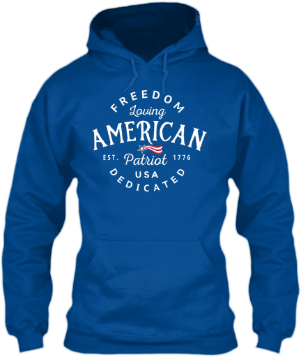 patriotichoodieblue