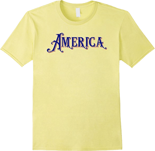 Red White Blue America T shirt