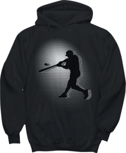 Baseball Player Sports Hoodie