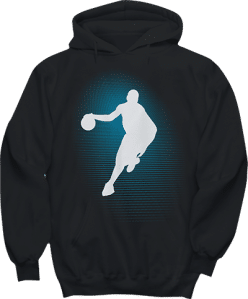 Basketball Player Sports Hoodie