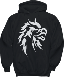 Eagle Hawk Bird Head Hoodie