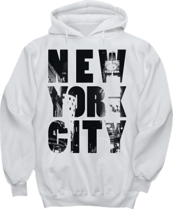 New York City Time Square Hoodie